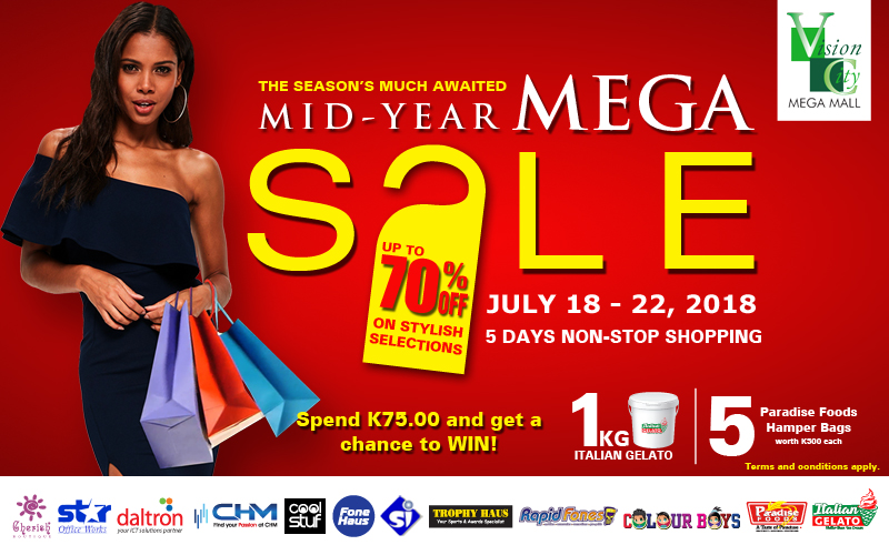Mid-Year MEGA Sale 2018