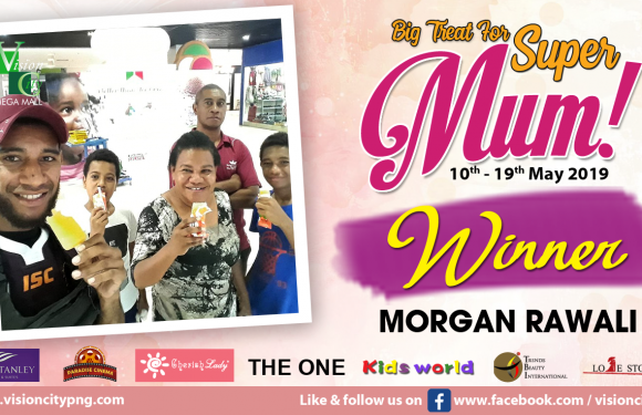 BIG TREAT FOR SUPER MUM WINNER!