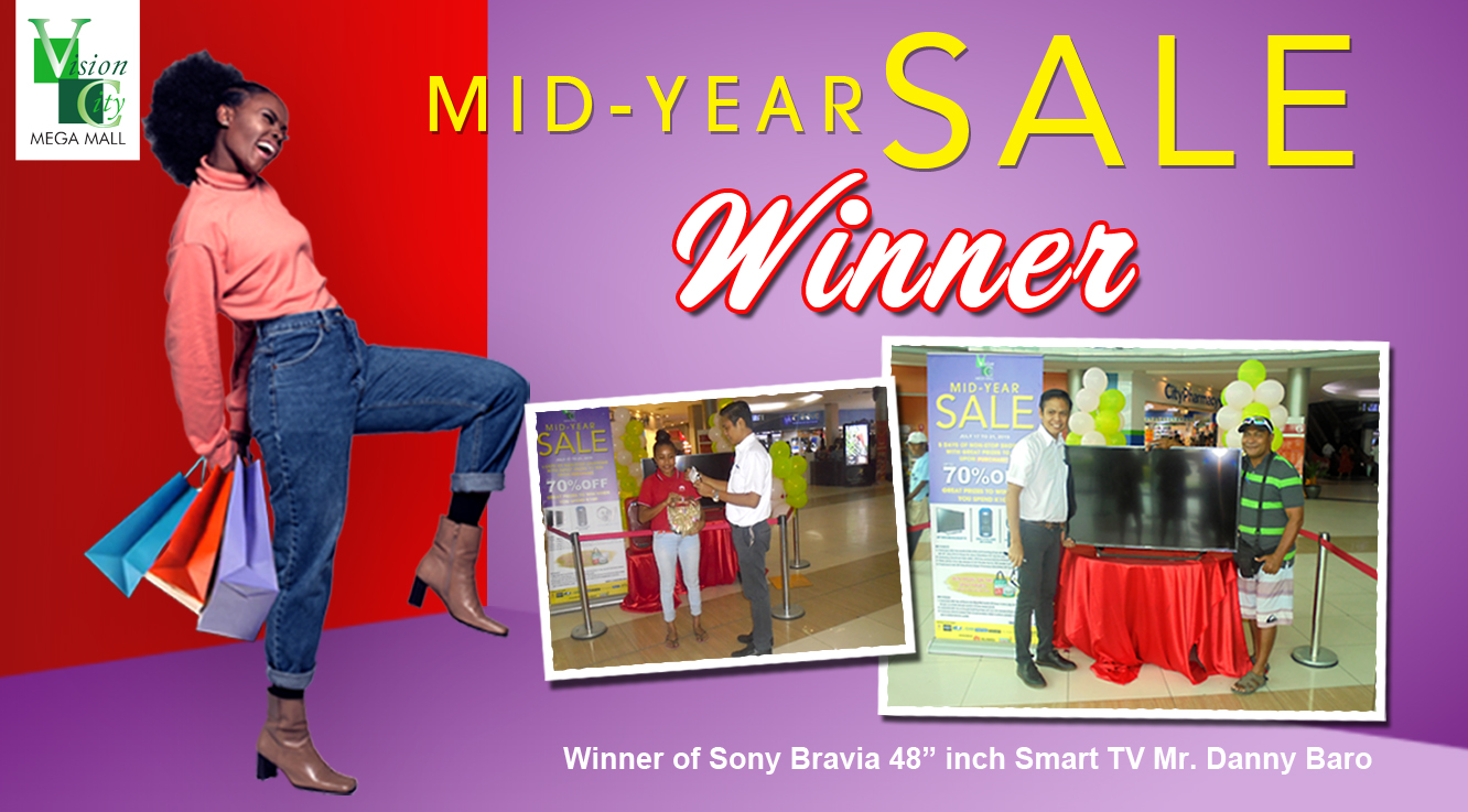 MID-YEAR SALE GRAND WINNERS!