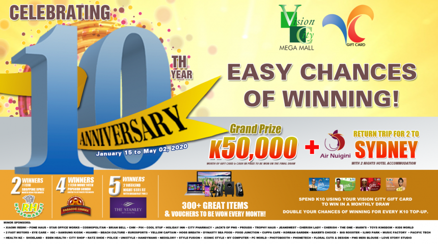 VC 10th Year Mall Anniversary