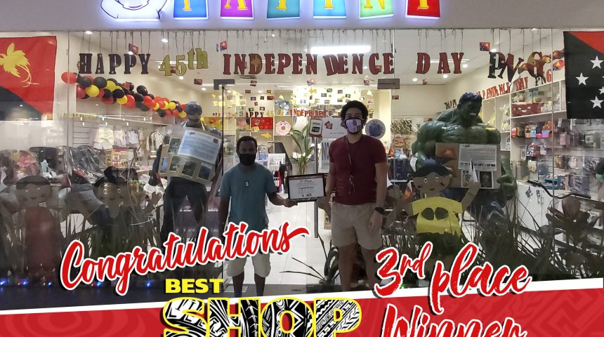 BEST SHOP WINNERS – 45TH INDEPENDENCE DAY