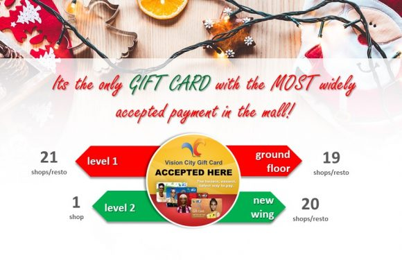 VC GIFT CARD OFFER FOR HOLIDAYS!