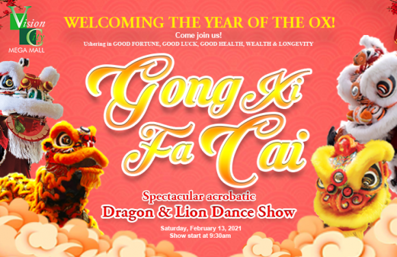 VISION CITY'S YEAR OF THE OX CELEBRATION!
